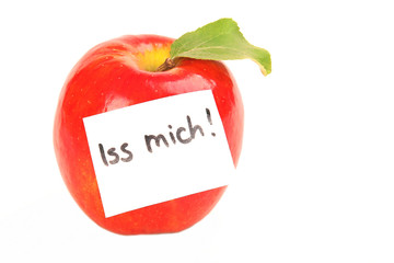 Iss mich!