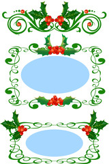 Holly Design Elements