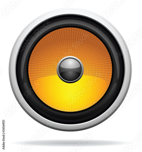 Car Loudspeaker Icon