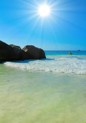 Island Stones Stormy Surf