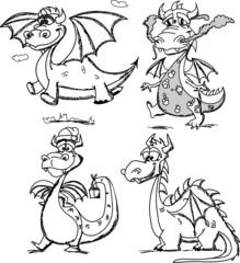 Мультфильм милый дракон, символ 2012