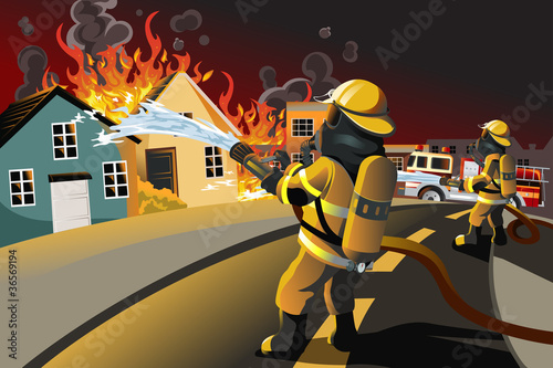 Firefighters - 36569194