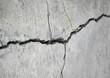 Leinwandbild Motiv stone crack