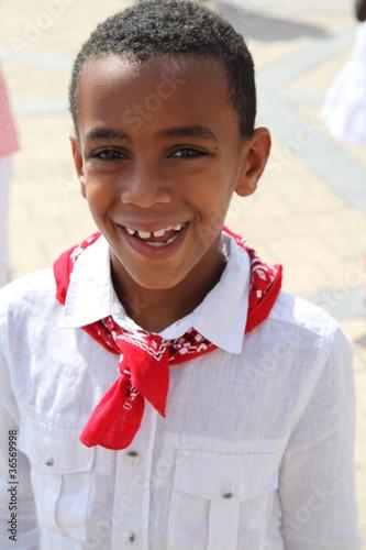 l'enfant au foulard