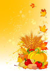 Harvest background