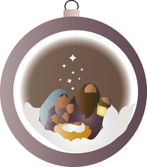 Holy Family in the sphere