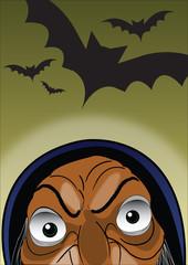 Strega e pipistrelli