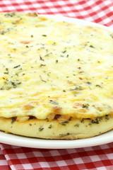 delicious italian cheese pizza