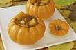 Pumpkin Soup in Pumpkin bowls