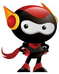 Robot Ninja Pose