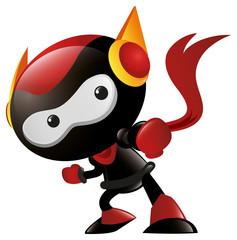 Robot Ninja Punch