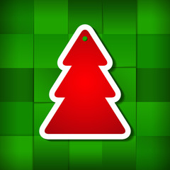 Holiday Background With Christmas Ttree