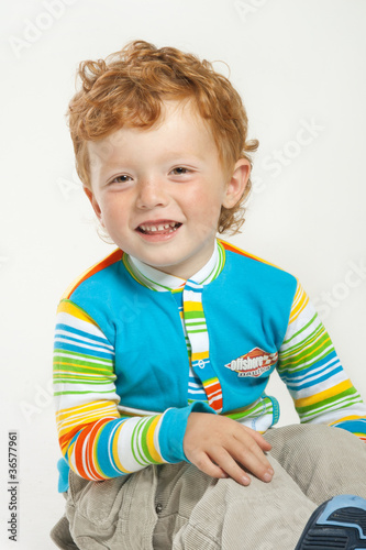 red-haired boy