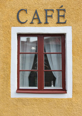 Coffee Shop Window