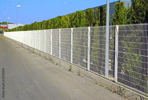 Clôture industrielle - 36580518