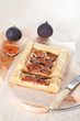 Gourmet tart with figs