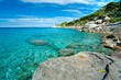 Capo Bianco beach, Elba island.