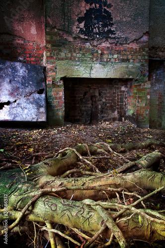 old ruin room