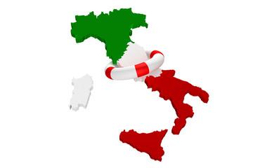 italia crisi salvataggio