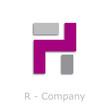 Sticks Logo initial letter R # Vector