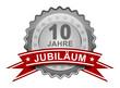 10 Jahre Jubiläum - Plakette
