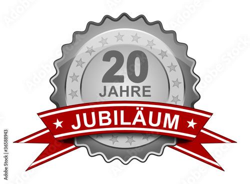 20 Jahre Jubiläum - Plakette