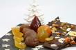 chocolat et ses fruits confits