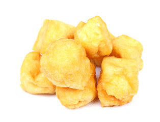 Tofu Puff on white