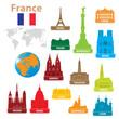 Symbols city to France