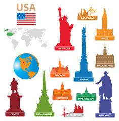 Symbols city USA