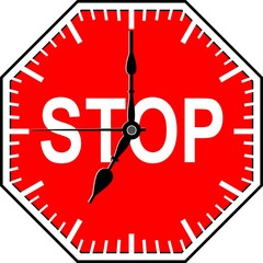 Stop time