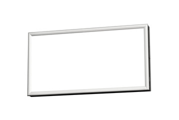 Blank isolated billboard