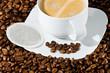 kaffeetasse mit pad
