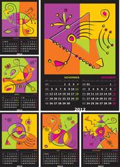 vector calendar 2010
