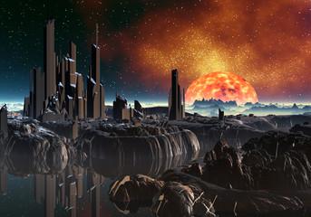 фото фэнтези планета