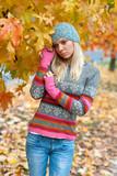 teen girl outside poster