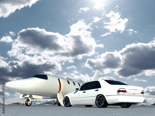 samolot-i-samochod