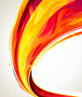 Abstract  flame glowing wave background. - 36600540