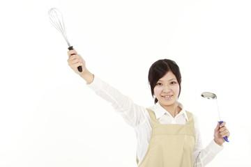 女性・料理