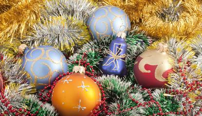Christmas Decoration. Swallow dof