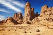 Rocks of Sahara Desert, Tassili N