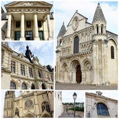 poitiers, montage