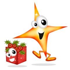stella con regalo