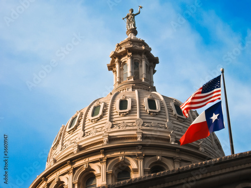 Foto Spatwand Texas Texas State Capitol Austin
