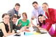 Succesfull business people