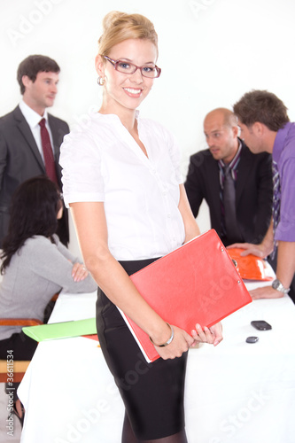 Portrait of a female executive