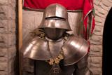 Medieval knight - crusader poster