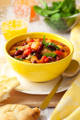 Turkey Ragout with Vegetables