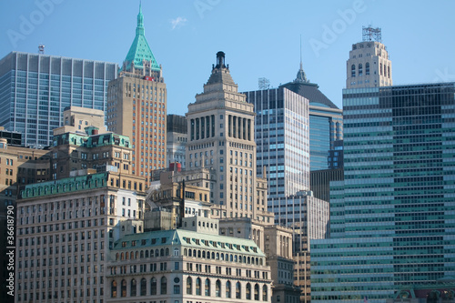 Buildings in New York