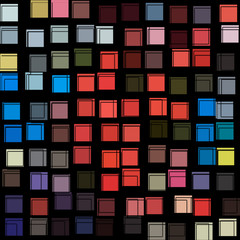 abstract lines and squares illustration